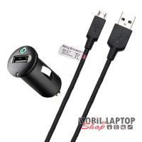 Autós töltő Sony / Sony Ericsson Micro USB 1200mAh ( AN400 )