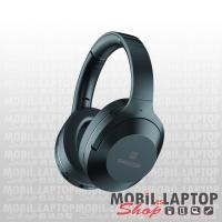 Bluetooth sztereo fejhallgató mikrofonnal, MicroSD, FM Rádió, zajszűrős, Swissten Hurricane fekete