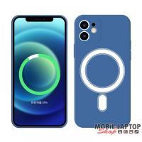 Cellect CEL-MAGSAFEIPH12PMBL iPhone 12 Pro Max kék mágneses szilikon tok