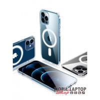 Cellect CEL-MAGSAFEIPH12PMTP iPhone 12 Pro Max átlátszó mágneses szilikon tok