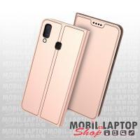 Flippes tok Samsung A202 Galaxy A20e rózsaarany oldalra nyíló