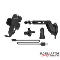 """Hama 188300 """"FC-10 Motion"""" autós mobiltartó vezeték nélküli tötlő funkcióval"""
