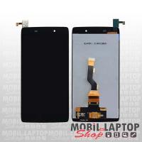 Kijelző Alcatel One Touch 6039 Idol 3 fekete + szervizelési díj