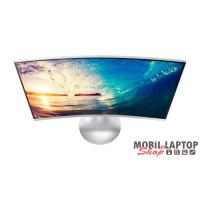 "Samsung 27"" C27F591FDU LED HDMI Display port ívelt kijelzős fehér monitor"