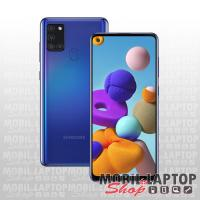 Samsung A217 Galaxy A21S dual sim 32GB kék FÜGGETLEN
