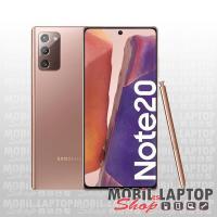 Samsung N981 Galaxy Note 20 (8GB/256GB) 5G dual sim bronz FÜGGETLEN