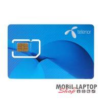 SIM kártya Telenor REGISZTRÁLATLAN 0Ft lebeszélhető