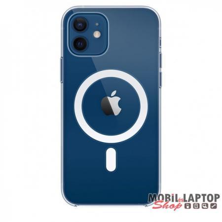 Cellect TPU-MAGSAFE-IPH12MTP iPhone 12 Mini átlátszó mágneses szilikon tok
