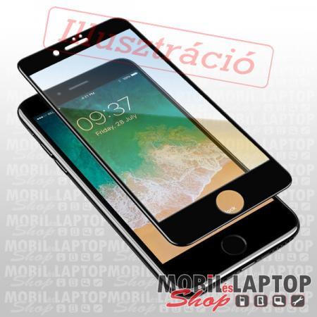 Fólia Samsung A260 Galaxy A2 Core fekete kerettel teljes kijelzős ÜVEG
