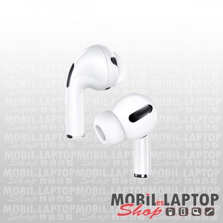 Headset sztereo univerzális USAMS Pro US-YM001 vezeték nélküli fehér (iOS / Android kompatibilis)
